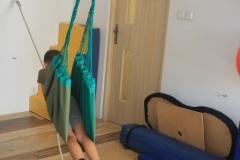 Ćwiczenia z wykorzystaniem hamaku