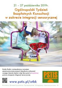Ogólnopolski tydzień bezpłatnych konsultacji w zakresie integracji sensorycznej